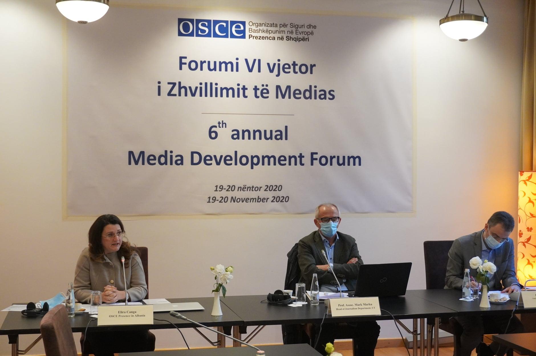 AEJ Shqipëri, merr pjesë ne forumin e medias organizuar nga OSBE